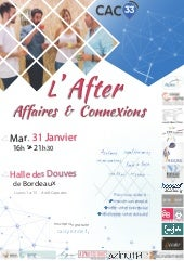 "Flyer After ""Affaires & Connexions"" du CAC33"