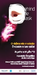 Flyer Campanha Behind the mask 2010
