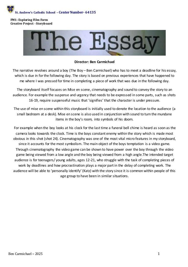 fm storyboard exemplar a grade