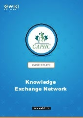 Knowledge Exchange Network: the CAPHC use case