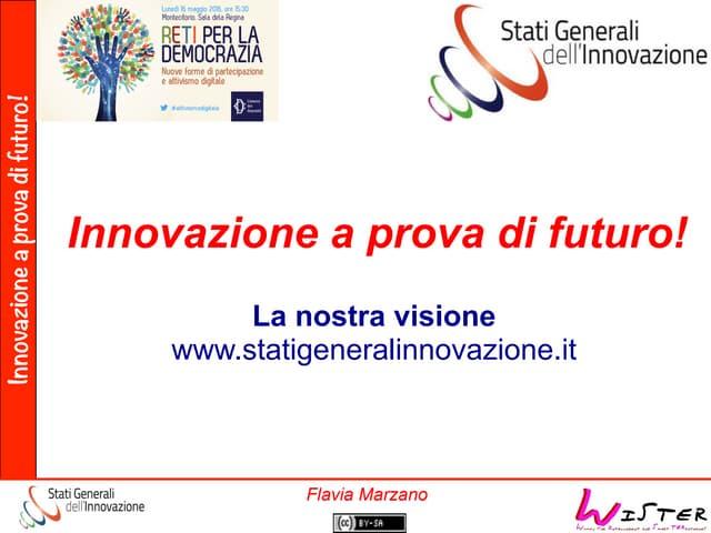 Flavia Marzano - Camera dei Deputati - Partecipazione e Attivismo Digitale