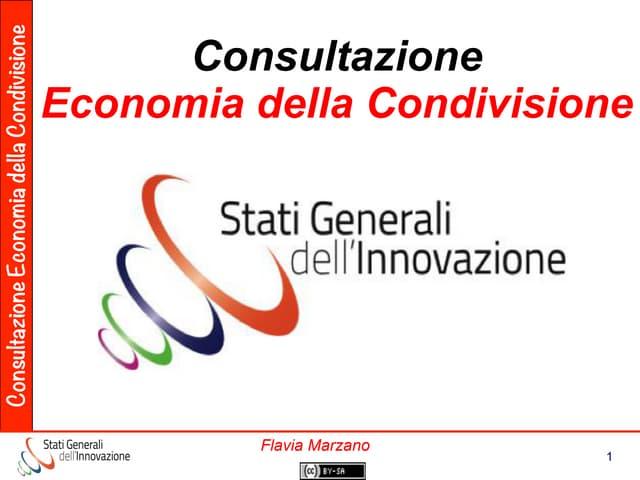 Consultazione Sharing Economy Act 2marzo2016