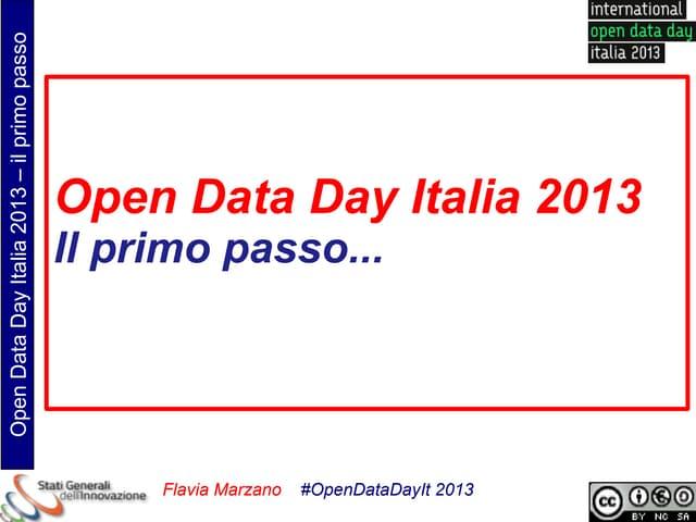 FMarzano_Intro_OpenDataDayIt_2013
