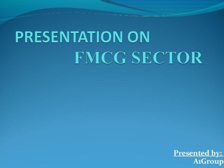 fmcg sector presentation, Presentation templates