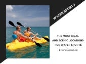 Top Five Famous Destinations For Water Sports