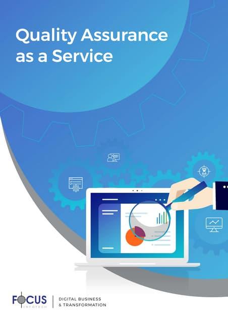 Quality Assurance Brochure - FFI Software Services