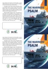 Folheto para evangelização de Marinheiros - Impressão em casa - Inglês