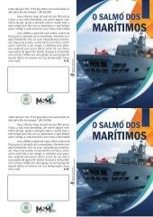 Folheto para evangelização de Marinheiros - Impressora caseira - Português