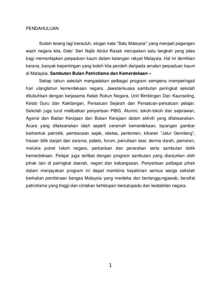Contoh Folio Rumusan Sejarah Contoh Rah