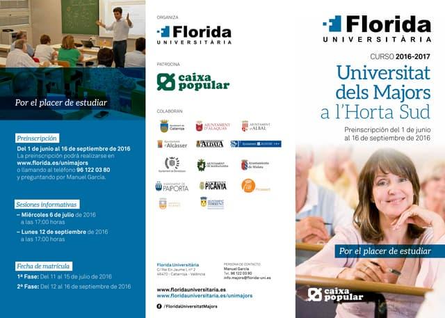 Universidad de los Mayores de Florida Universitària