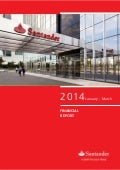 1Q14 Financial Report Banco Santander