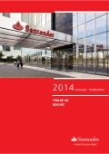 3Q14 Financial Report Santander Bank