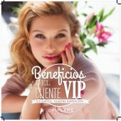Folleto beneficios Cliente VIP Oriflame