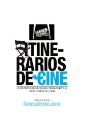 Folleto Llanes de Cine