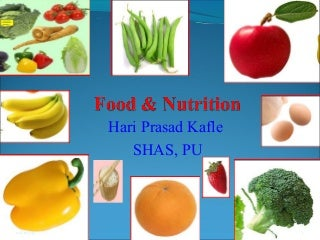 Food and nutrition General Concept