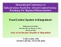 Food Control System in Bangladesh
