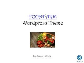Foodfarm WordPress Theme