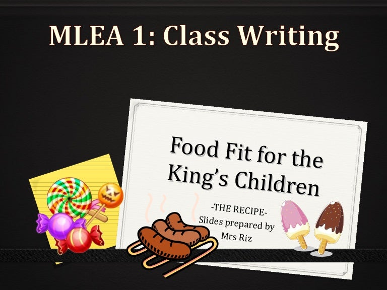 Food Fit for a King - Big Book: Sails Shared Reading Year