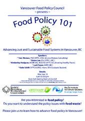 Food policy101 advancingfoodpolicythroughfoodwaste