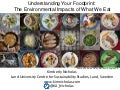 Understanding Your Foodprint: The Environmental Impacts of What We Eat