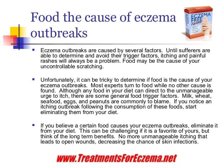 eczema causes food