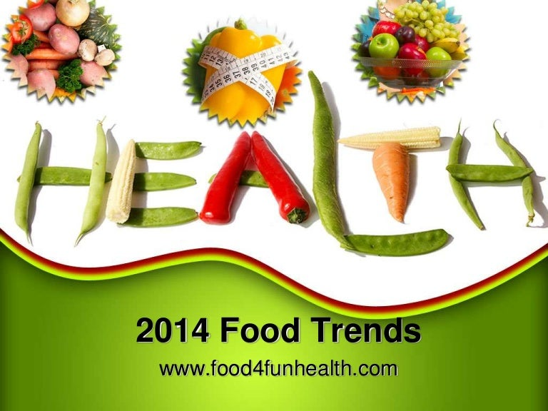 2014 food trends - look carefully, Powerpoint templates