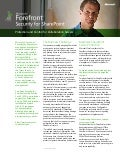 Microsoft Forefront - Security for SharePoint Whitepaper