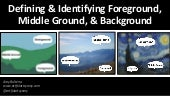 Defining & Identifying Foreground, Middle Ground, & Background
