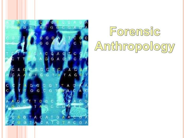 Forensic Anthropology الاستعراف