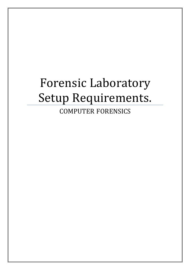 Forensic Laboratory Setup Requirements - Microsoft word photography invoice template online vapor store