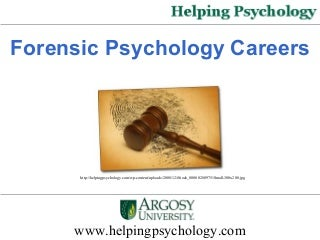 What would you suggest for for someone who wants to become a forensic pyschologist?