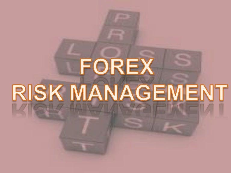 Pengertian forex risk management