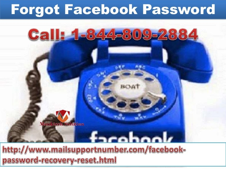 Forgot Facebook Password 1-844-809-2884 (toll-free) configuration ser…