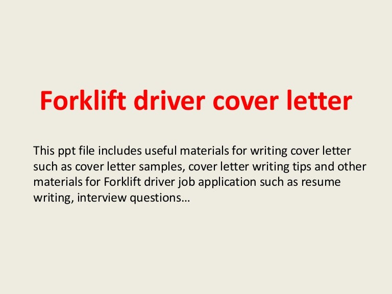 cdl truck driver cover letter - Template