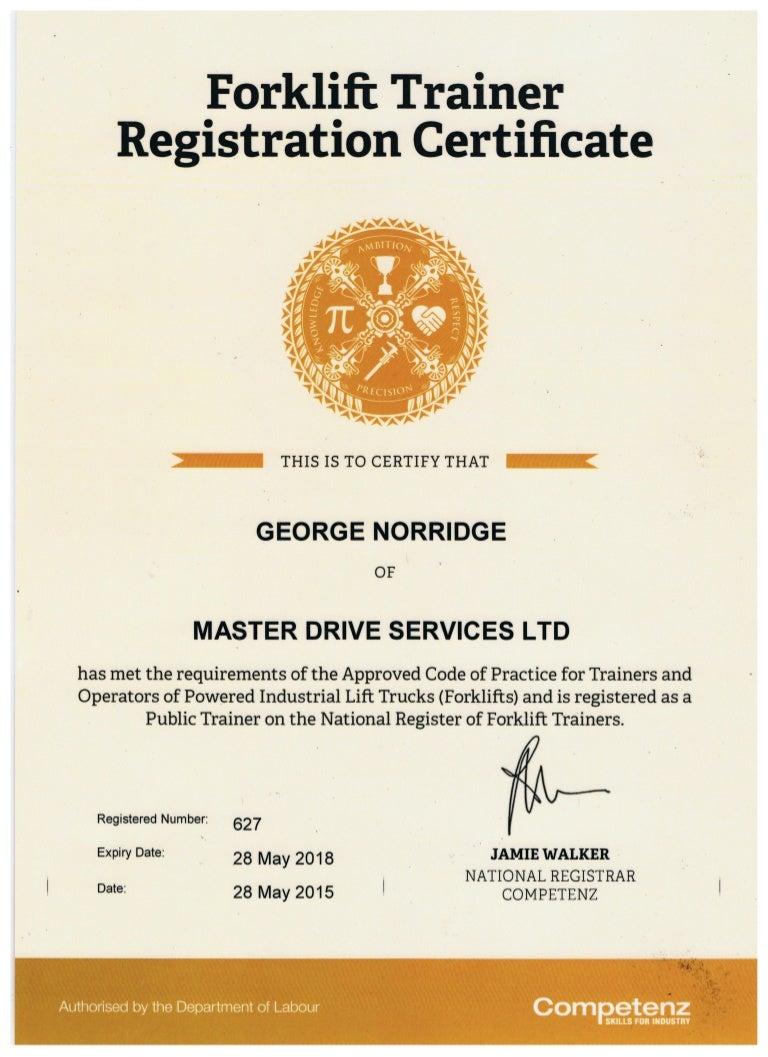 Forklift registration 1betcityfo Images