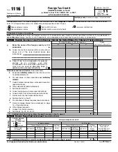 US Tax Abroad - Expatriate Form 1116