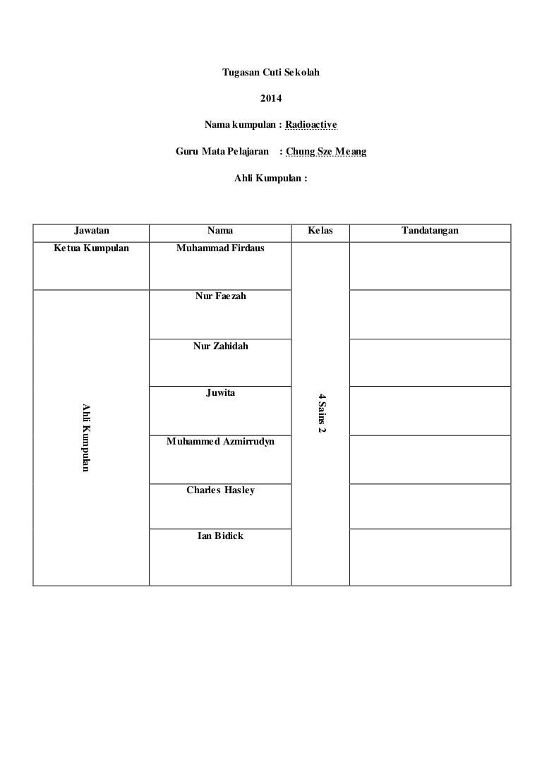 worksheet Decomposition And Synthesis Reactions Worksheet form 4 chemistry project radioactive