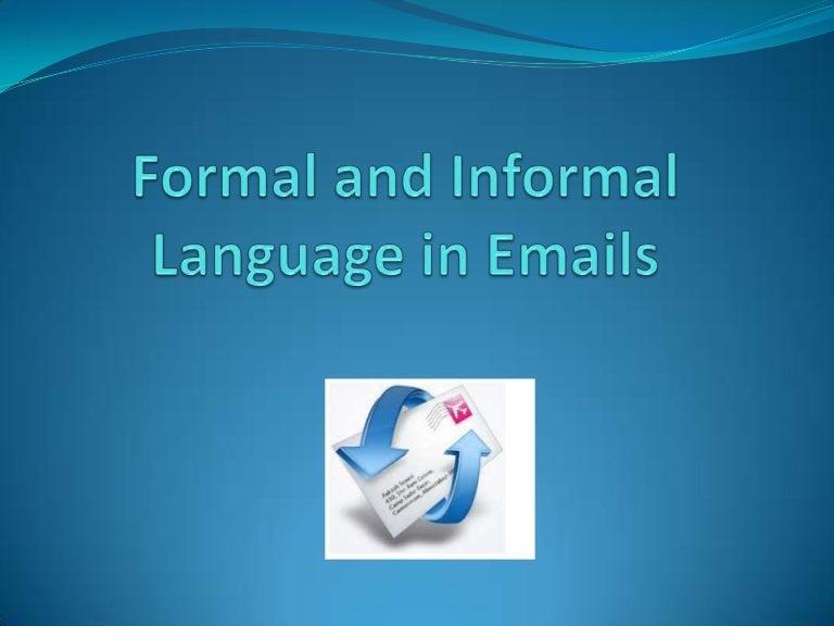 informal to formal converter