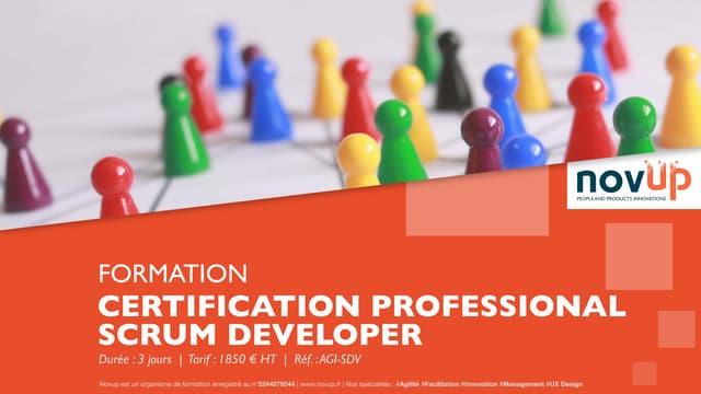 Formation agile - Certification Professional Scrum Developer (PSD)