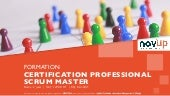 Formation agile - Certification Professional Scrum Master