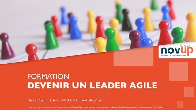 Formation agile - Devenir un leader agile