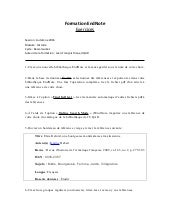 Formation EndNote- Exercices