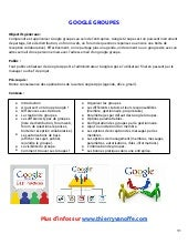 Formation google groupes  thierry vanoffe - 2013