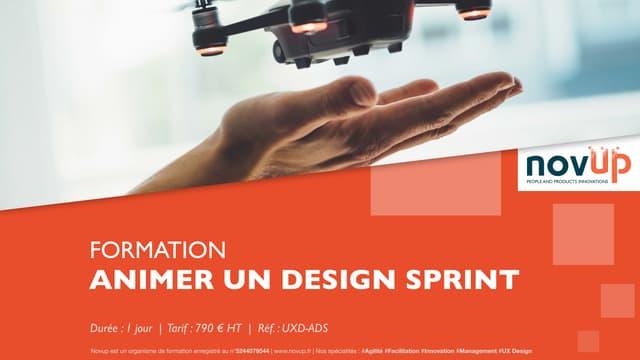 Formation UX Design - Animer un Design Sprint