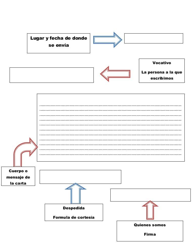 formato para carta