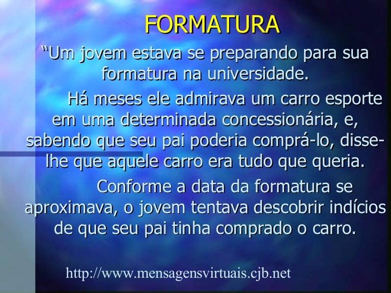 FORMATURA INTERESSANTE Biblia