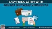 Easy Filing GSTR 9 With Gen GST Software Version 2.0
