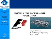 Formula 1 racing and ip protection