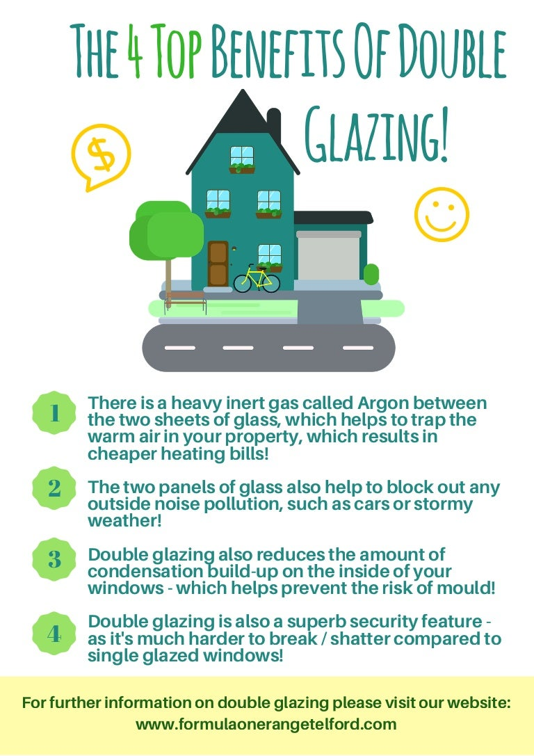 The Top 4 Benefits Of Double Glazing Formula One Windows Diagram