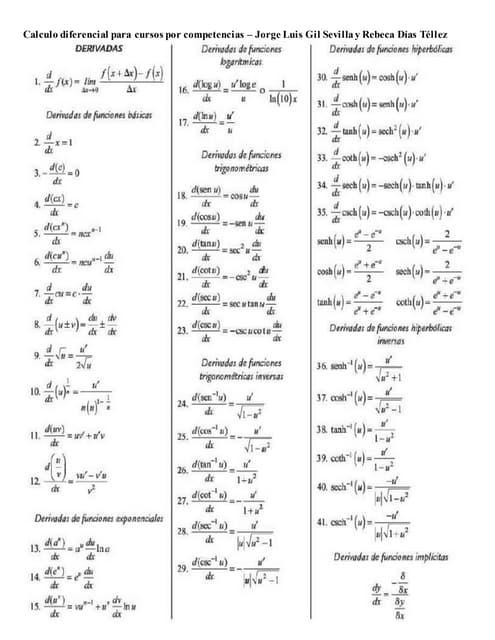 Formulario de calculo vectorial pdf